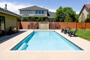 Sandscape used on private residence pool deck