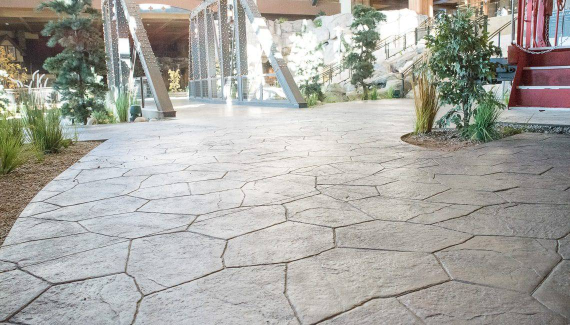 Bomanite Imprint System or Stamped Concrete
