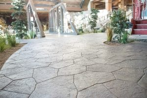 Bomanite Imprint System or Stamped Concrete