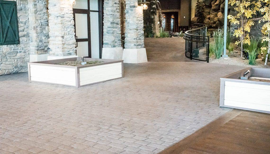 Bomanite Imprint System otherwise known as Stamped Concrete