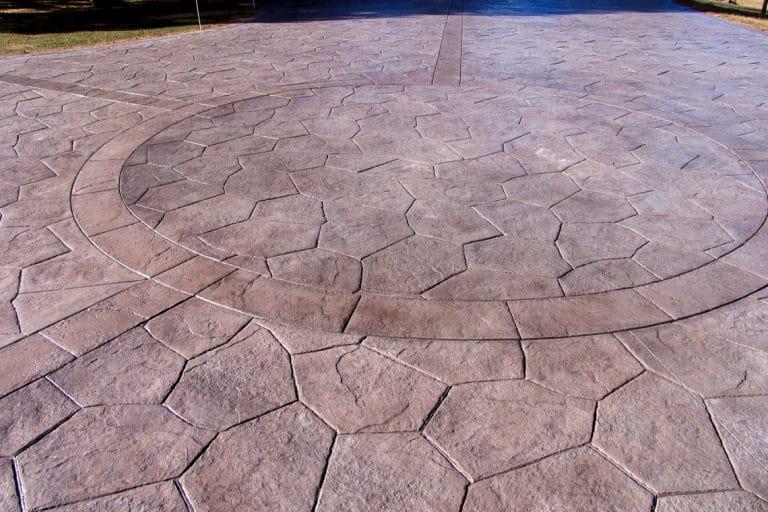 Stamped concrete, Bomanite Imprinted Flatwork walkway