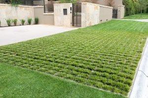 Grasscrete at residence
