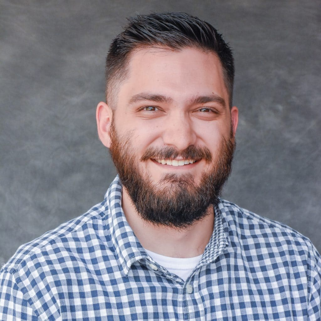 Headshot of Justin Loyd, Colorado Hardscapes Project manager.