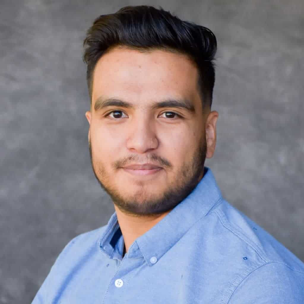 Headshot of Javier Ramirez, Colorado Hardscapes Project Manager.