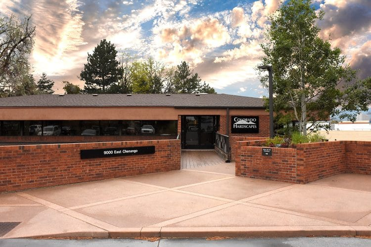 Colorado Hardscapes Office Entrance
