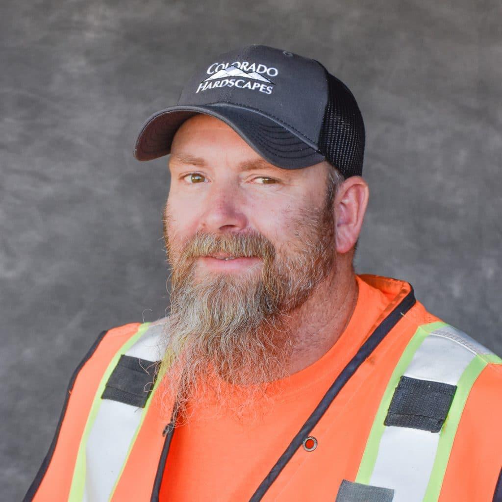 Headshot of Jeremy Lefever, Colorado Hardscapes superintendent.