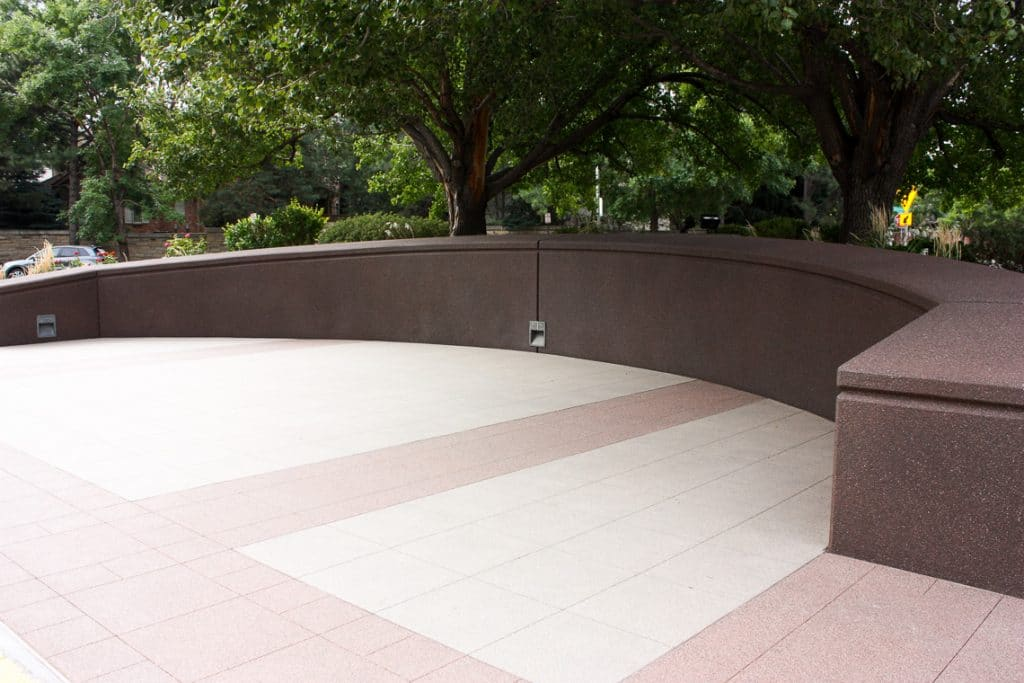 Microtop - ST Concrete Overlay Wall - Colorado Hardscapes