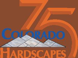 Colorado Hardscapes 75th anniversary logo